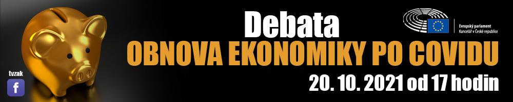 Debata EP Obnova ekonomiky po covidu